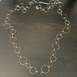 Jewelry - Gently Worn Multi-toned Long Necklace
